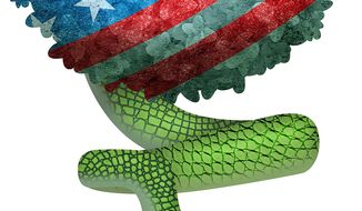 Lying Snakes of the Deep State Illustration by Greg Groesch/The Washington Times