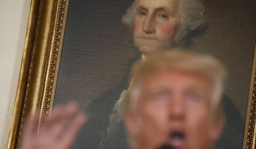 Trump signs law banning tax dollars for portraits of government officials