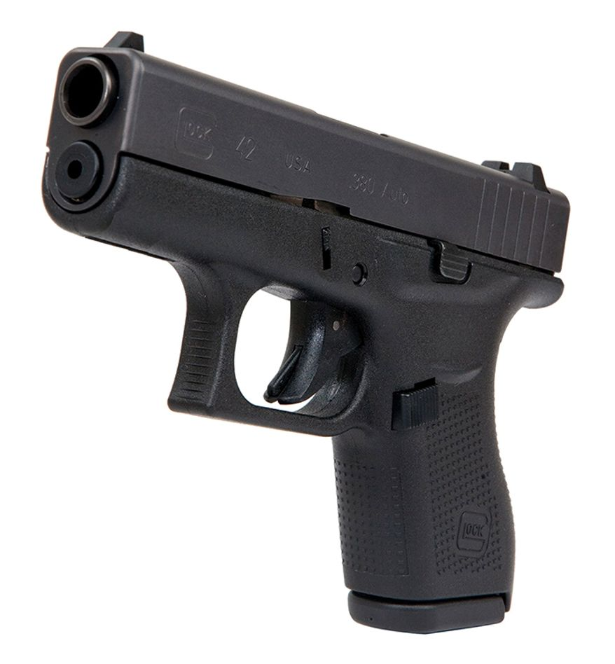 The new GLOCK 42, in .380 AUTO, is a slimline subcompact pistol engineered with the GLOCK Perfection promise and able to withstand the rigors of routine training. Made in the USA, the G42 is the smallest pistol GLOCK has ever introduced, making it ideal for pocket carry and shooters with smaller hands.
