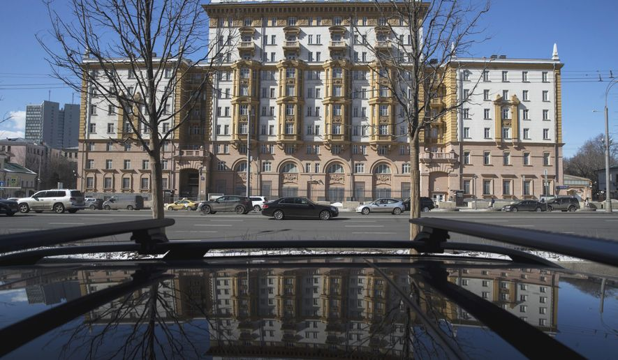 The Russian national worked for a decade at the U.S. Embassy in Moscow. (Associated Press/File)