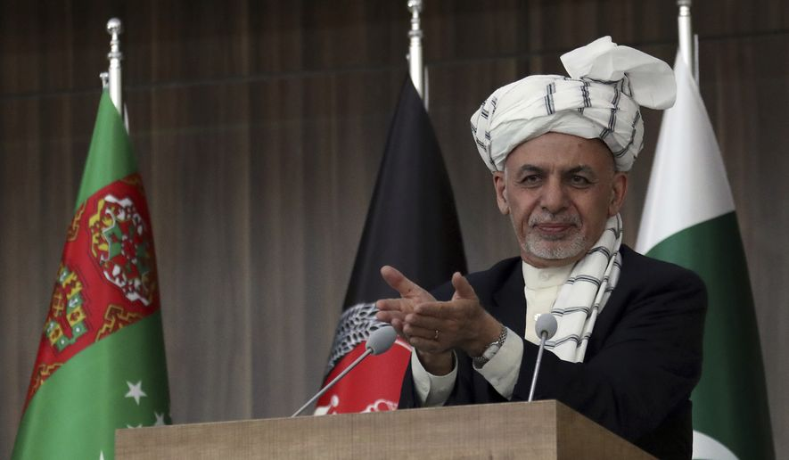 Ashraf Ghani says Afghanistan elections set for Oct  20