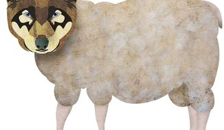 Wolf in Sheep's Clothing Illustration by Greg Groesch/The Washington Times