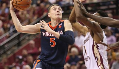 Virginia guard Kyle Guy leads a talented group of returning players that finished the regular season No. 1 in the nation.