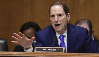 In a March 26 letter to Oregon Sen. Ron Wyden, the Department of Homeland Security acknowledged that last year it identified suspected unauthorized cell-site simulators in the nation's capital. (Associated Press)