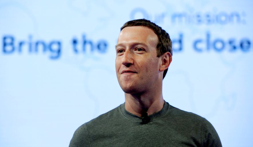 In this June 21, 2017, file photo, Facebook CEO Mark Zuckerberg speaks during preparation for the Facebook Communities Summit, in Chicago. Now that Mark Zuckerberg is set to testify before Congress, he'll need to seek advice not just from lawyers but also from communications specialists on addressing Facebook's privacy fiasco. (AP Photo/Nam Y. Huh, File)