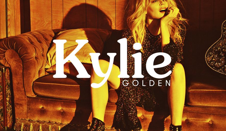 "This cover image released by BMG shows ""Golden,"" the latest release by Kylie Minogue. (BMG via AP)"