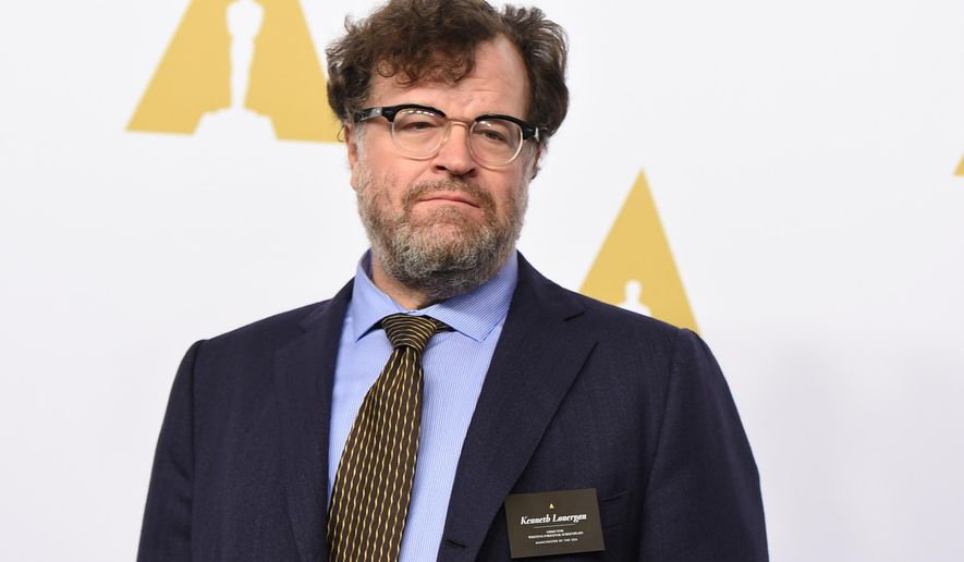 """FILE - In this Feb. 6, 2017 file photo, Kenneth Lonergan arrives at the 89th Academy Awards Nominees Luncheon in Beverly Hills, Calif. Lonergan wrote the four-part miniseries, """"Howards End,"""" based on E.M. Forster's classic novel, premiering Sunday on Starz.  (Photo by Jordan Strauss/Invision/AP, File)"""