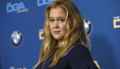 Amy Schumer poses in the press room at the 70th annual Directors Guild of America Awards at The Beverly Hilton hotel on Saturday, Feb. 3, 2018, in Beverly Hills, Calif. (Photo by Chris Pizzello/Invision/AP)
