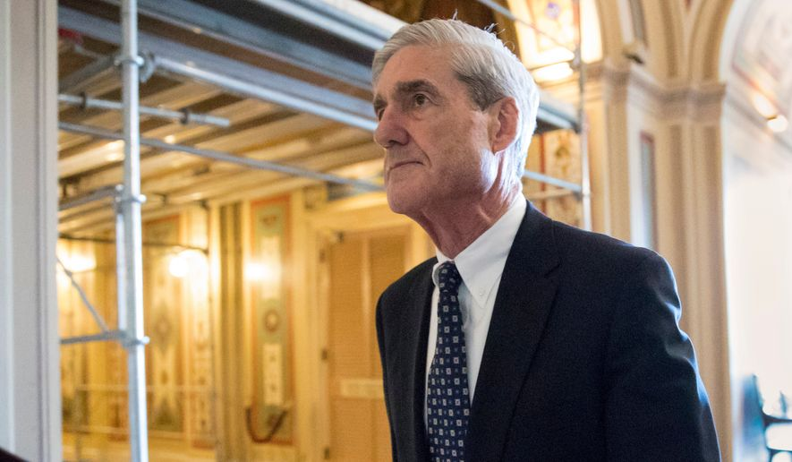 Special counsel Robert Mueller and his team consider President Trump a subject, not a criminal target, in the wide-ranging Russia investigation. (Associated Press/File)