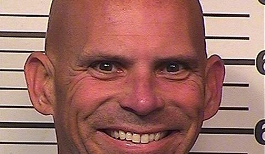 In this Feb. 22, 2018 photo provided by the California Department of Corrections and Rehabilitation is Lyle Menendez. He and his brother Erik are serving life sentences for fatally shooting their parents, Jose and Kitty Menendez in their Beverly Hills mansion in 1989. Lyle Menendez, was moved in February from Mule Creek State Prison in Northern California to San Diego's R.J. Donovan Correctional Facility where his brother is serving his sentence, but placed in a separate housing unit. Erik Menendez reunited with his brother when he was moved Wednesday, April 4, 2018, to the same housing unit (California Department of Corrections and Rehabilitation via AP)