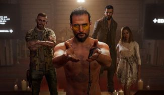 Project at Eden's Gate cult leader Joseph Seed and his heralds welcome the rookie in the first person shooter Far Cry 5.