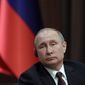 Russian President Vladimir Putin was not on the sanctions list, but the Trump administration went after those closest to him. (Associated Press/File)