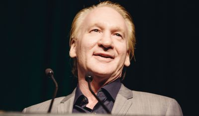 """Bill Maher said on his show late Friday that even though Fox News host Laura Ingraham has been """"a deliberately terrible person, saying horrible things,"""" young gun safety advocates have to expect criticism if they are entering the public arena. He said they shouldn't target advertisers. (Associated Press)"""