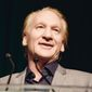 Bill Maher, winner of the First Amendment Award, speaks to the crowd at the 26th Annual Literary Awards Festival at the Beverly Wilshire Hotel on Wednesday, September 28, 2016, in Beverly Hills, Calif (Photo by Casey Curry/Invision/AP)
