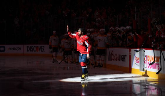 f7acc958aae Alex Ovechkin knows there s only one trophy that counts - Washington Times