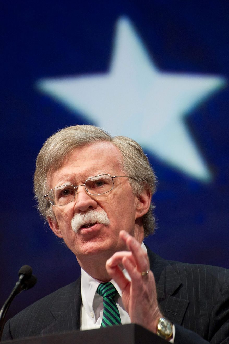 John Bolton. (Associated Press) ** FILE **