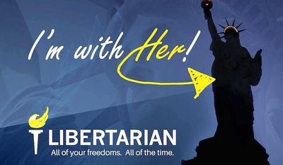 The Libertarian Party is geared up for the 2018 midterms, complete with a motto borrowed from the tea party and a 92 percent surge in voter membership. This year their conference is in New Orleans. (Libertarian Party)