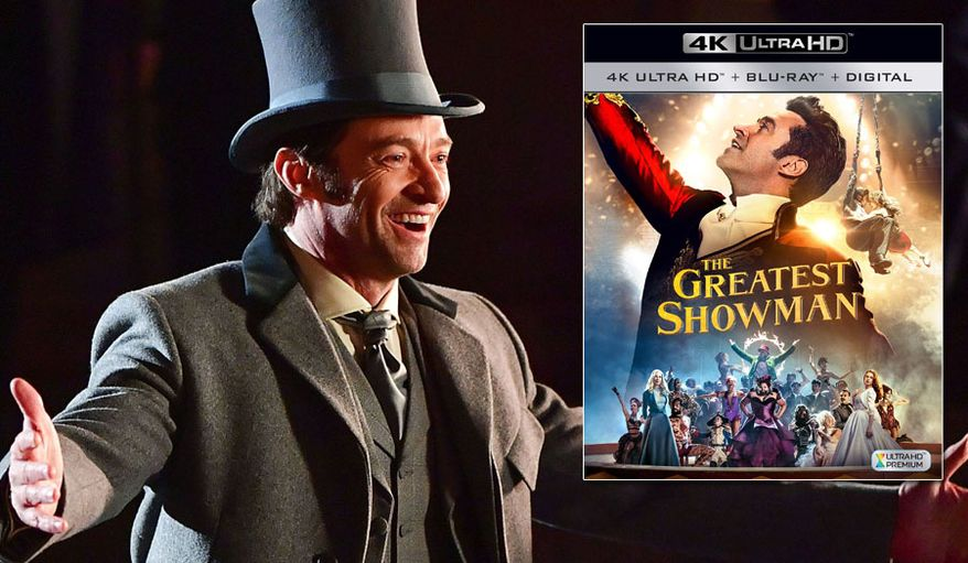 "Hugh Jackman stars in the musical ""The Greatest Showman,"" now available on 4K Ultra HD from 20th Century Fox Home Entertainment."
