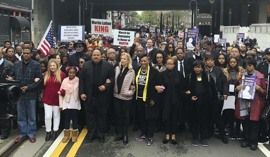 Atlanta Marks 50 Years Since King S Funeral Services Washington Times
