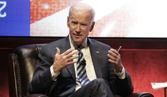 Former Vice President Joe Biden said five weeks before the 2016 presidential election he knew Donald Trump would win and he even quarreled with then-President-Barack Obama over his prediction. (Associated Press)