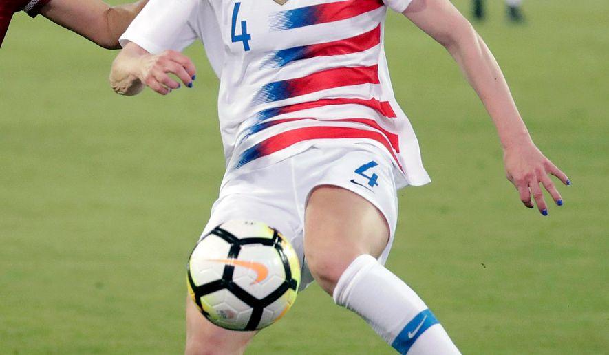 0afa7c819 Becky Sauerbrunn reflective as US sets sights on World Cup ...