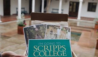 An image posted to the Scripps College Facebook page.