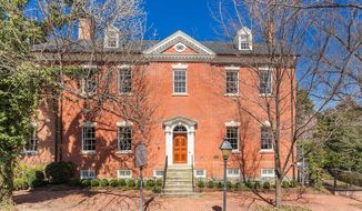 """Robert E. Lee's boyhood home goes up for sale, priced at $8.5 million and deemed one of the nation's 'most desirable properties."""" (Washington Fine Properties)"""