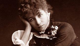 Sarah Bernhardt. (Associated Press) ** FILE **