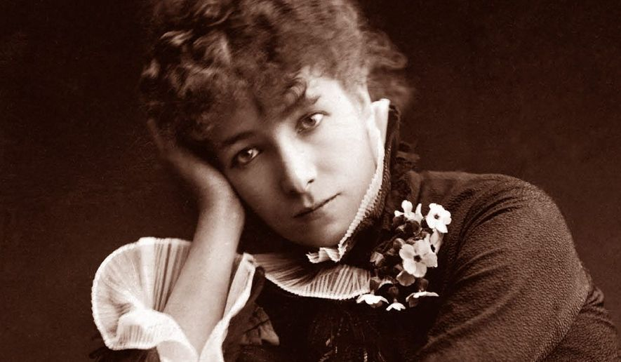 Sarah Bernhardt. (Associated Press) ** FILE **