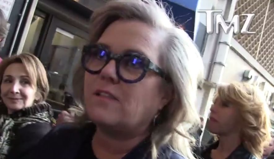 """Entertainer Rosie O'Doennell predicted Randy """"Iron Stache"""" Bryce will take House Speaker Paul Ryan's Wisconsin seat due to his decision not to seek re-election. The activist made her comments while speaking to TMZ on April 12, 2018. (Image: TMZ screenshot)"""