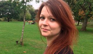 This is an image of the daughter of former Russian Spy Sergei Skripal, Yulia Skripal taken from Yulia Skipal's Facebook account on Tuesday March 6, 2018. Britain's Foreign Office says it has asked the Organization for the Prohibition of Chemical Weapons to publish a summary of its findings at midday on Thursday, April 12, 2018, on the nerve agent used to poison a former spy and his daughter in southwestern England. (Yulia Skripal/Facebook via AP)