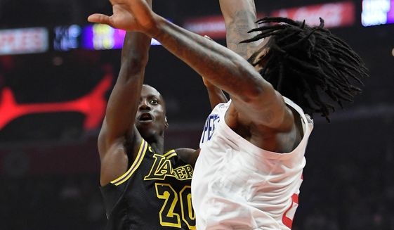 ac4b0ce86 Home · Sports · Basketball · Los Angeles Lakers guard Andre Ingram ...