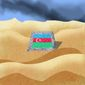 Illustration on the relative stability of Azerbaijan by Alexander Hunter/The Washington Times