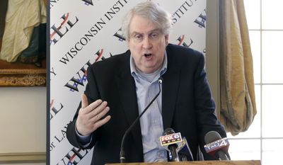 Former Marquette University professor John McAdams sued the private Catholic school in 2016, arguing that he lost his job for exercising his freedom of speech by expressing his disapproval of what he believes was a teacher's attempt to shut down a discussion about opposition to gay marriage. (Associated Press)