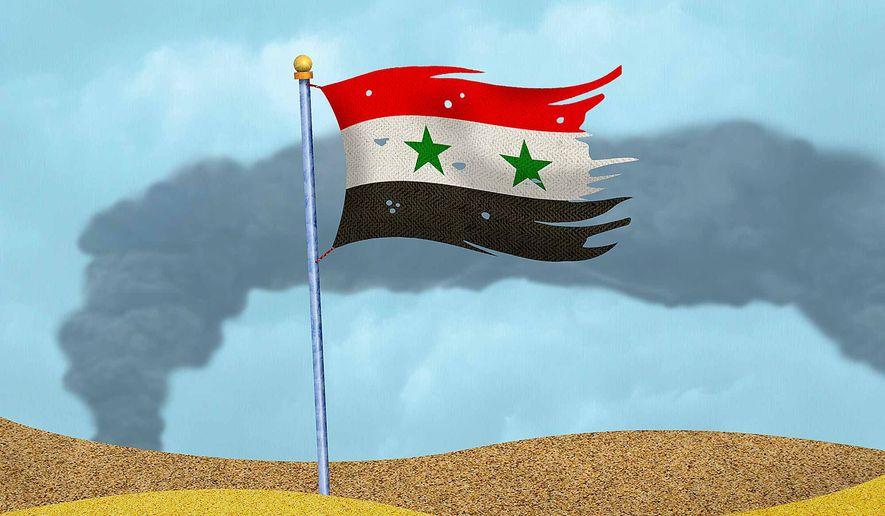 Syria Strike Illustration by Greg Groesch/The Washington Times