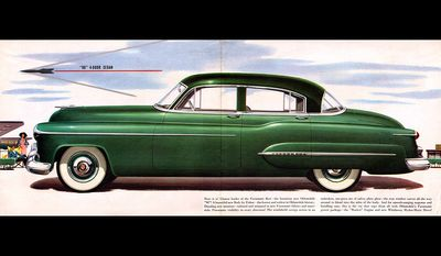 Richard Nixon - 1950 Oldsmobile 98