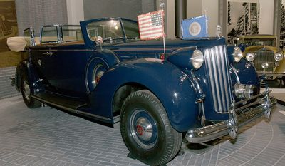 Franklin D. Roosevelt - 1932 Packard Twelve