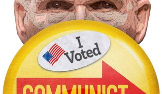 Voting for a Communist Illustration by Greg Groesch/The Washington Times