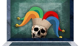 Online Gambling Illustration by Greg Groesch/The Washington Times