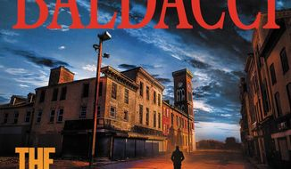 """This cover image released by Grand Central Publishing shows """"The Fallen,"""" by David Baldacci. (Grand Central Publishing via AP)"""