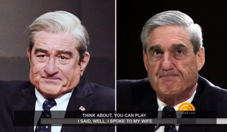 Actor Robert DeNiro plays Special Counsel Robert Mueller on NBC's Saturday Night Live.