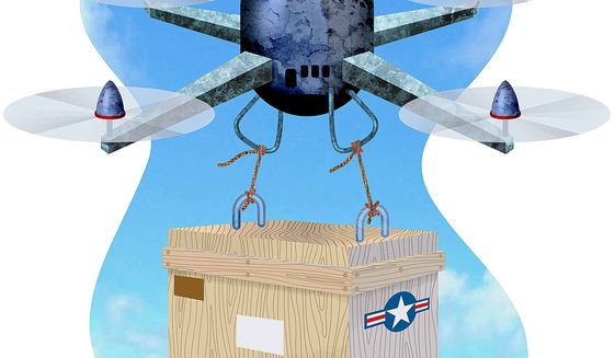 Sale of Unmanned Aerial Systems to Our Allies Illustration by Greg Groesch/The Washington Times