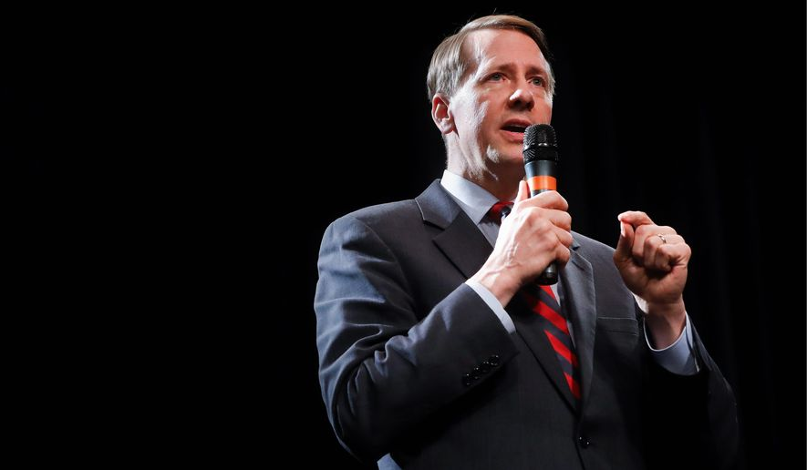 Richard Cordray has amassed a long record as state treasurer and attorney general, but gained prominence a few years ago. (Associated Press)