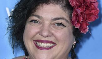"Randa Jarrar attends the 2017 Vulture Festival Los Angeles ""Feminist AF"" at the Hollywood Roosevelt Hotel on Saturday, Nov. 18, 2017, in Los Angeles. (Photo by Richard Shotwell/Invision/AP)"