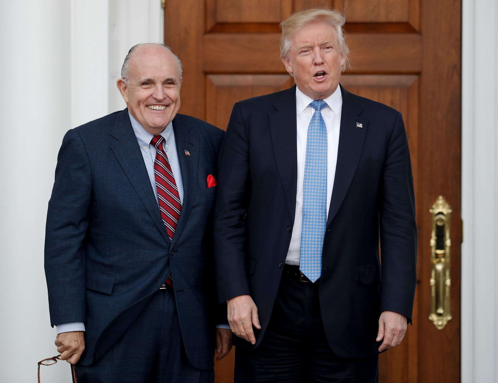 Rudy Giuliani, Donald Trump attorney, says he understands president