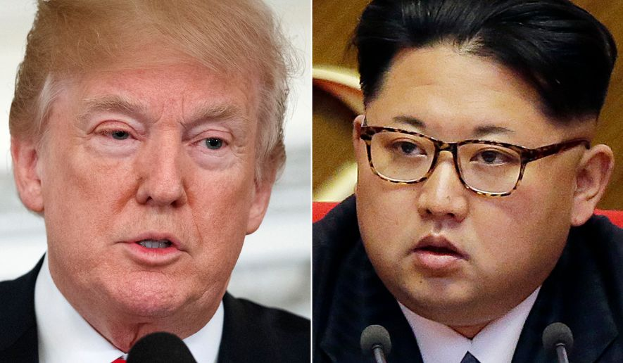 President Trump acknowledged Sunday that talks with Kim Jong-un have a long way to go. (Associated Press/File)