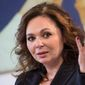 Natalia Veselnitskaya is most famous for being the Russian lawyer who met on July 9, 2016, in Trump Tower with Donald Trump Jr. and other campaign people. (Associated Press)