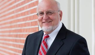 This undated photo provided by the University of Maryland School of Medicine in March 2018 shows Dr. Robert Redfield Jr. The government is paying Redfield $375,000 a year to run the Atlanta-based CDC, U.S. officials confirmed in April 2018. (Tracey Brown/University of Maryland School of Medicine via AP)
