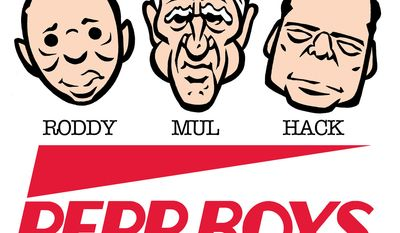 Perp Boys (Illustration by Alexander Hunter for The Washington Times)