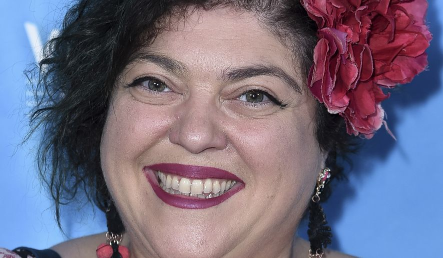 "Randa Jarrar attends the 2017 Vulture Festival Los Angeles ""Feminist AF"" at the Hollywood Roosevelt Hotel on Saturday, Nov. 18, 2017, in Los Angeles. (Photo by Richard Shotwell/Invision/AP) ** FILE **"